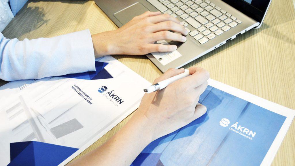 AKRN service brochure. Regulatory services such as CER, CSR, PMS, PMCF